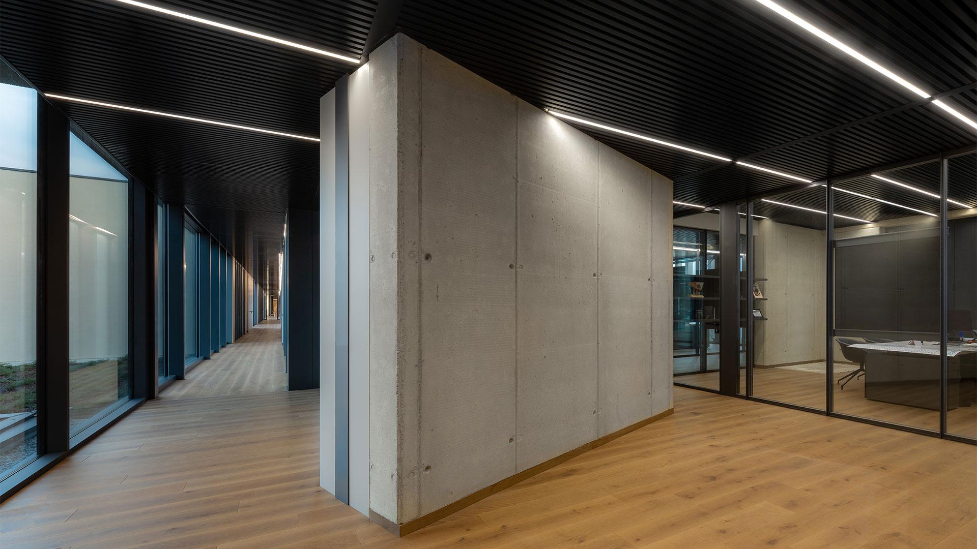 sistema radiante a soffitto metallico
